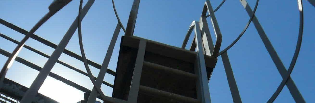 escaleras de gato