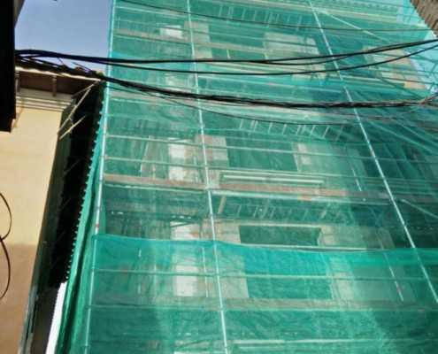 red de obra y andamios en Murcia