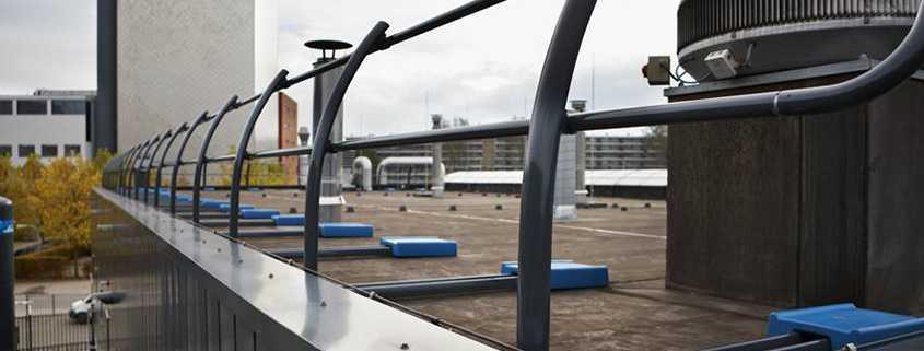 barandilla de seguridad de aluminio