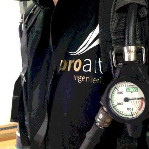 Alquilamos equipos de respiración autónoma