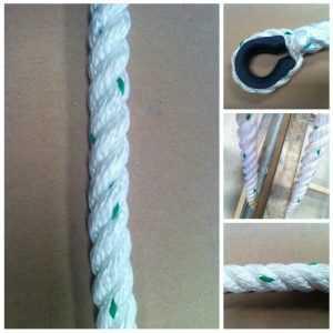líneas de vida y cuerdas