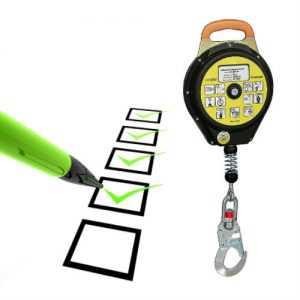 Inspección dispositivos retráctiles anticaída