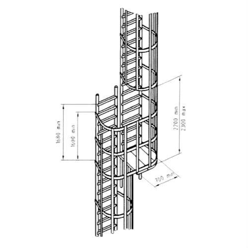 Escalera prefabricada modular 14122