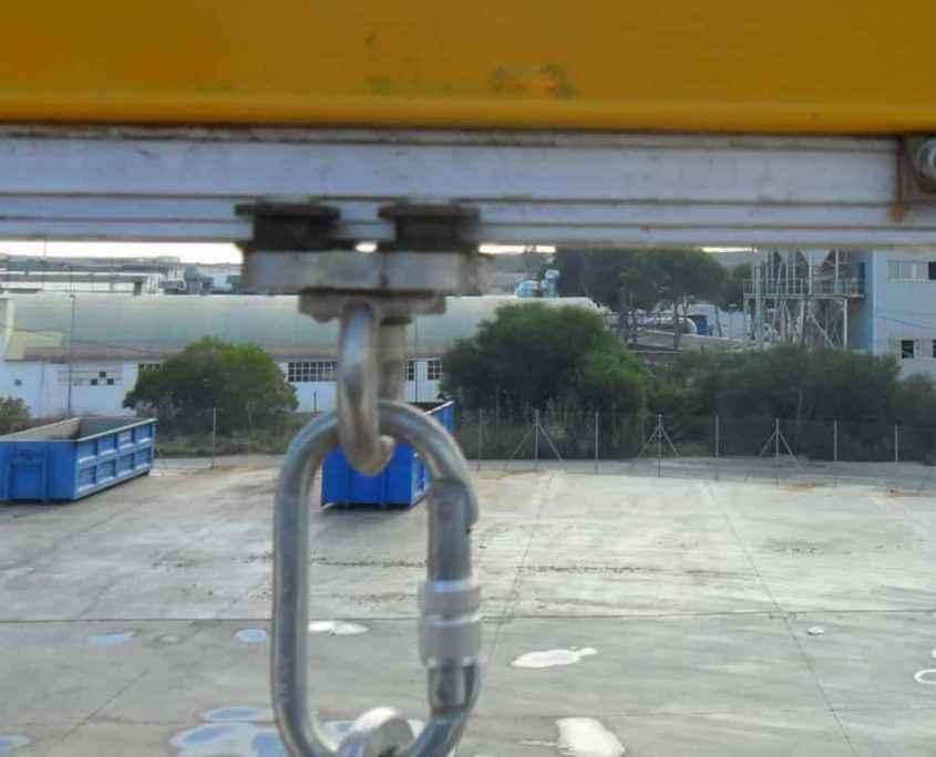 Sistema de anclaje en795 para muelle de carga
