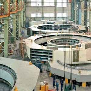 Mantenimiento industrial de centrales hidráulicas o nucleares