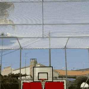 Redes canchas baloncesto y padel