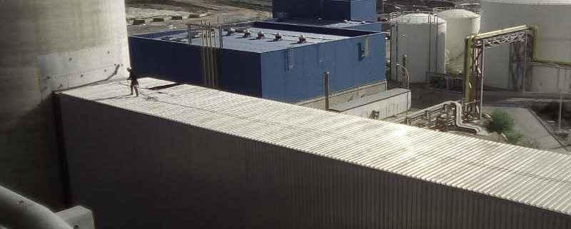 Seguridad en cubiertas metálicas
