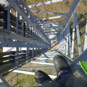 Trabajar en antenas en altura