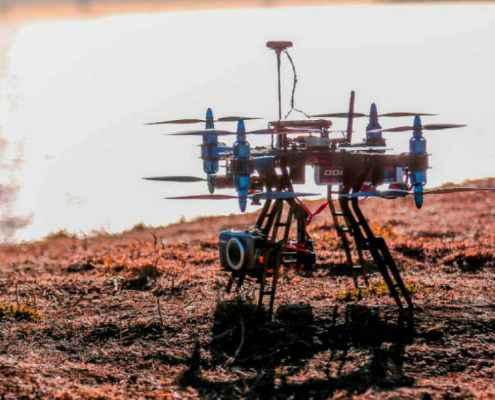 drones mantenimiento industrial