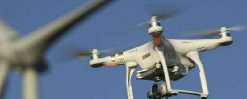 drones aerogeneradores