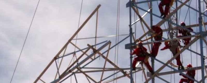 Mantenimiento de torres de alta tensión