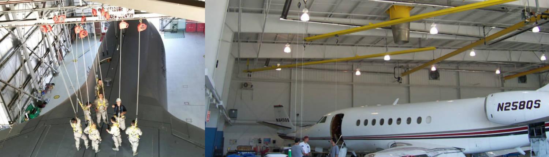 linea vida hangar aviacion
