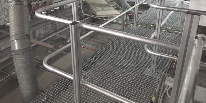 Barandillas certificadas de aluminio