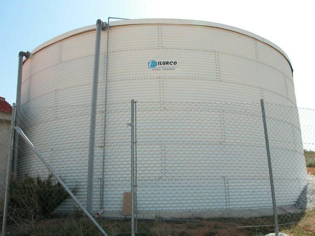 Limpieza de depósitos de agua y silos