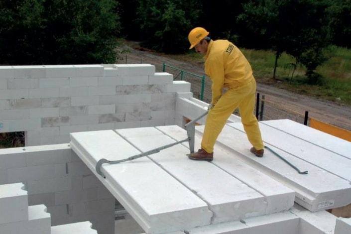 Riesgos de caída en construcción
