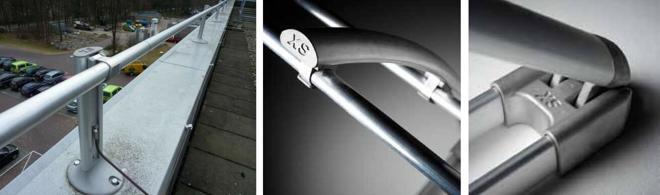 barandilla aluminio abatible