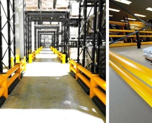barreras industriales de seguridad