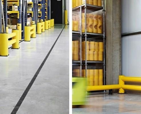 barreras seguridad suministro industrial