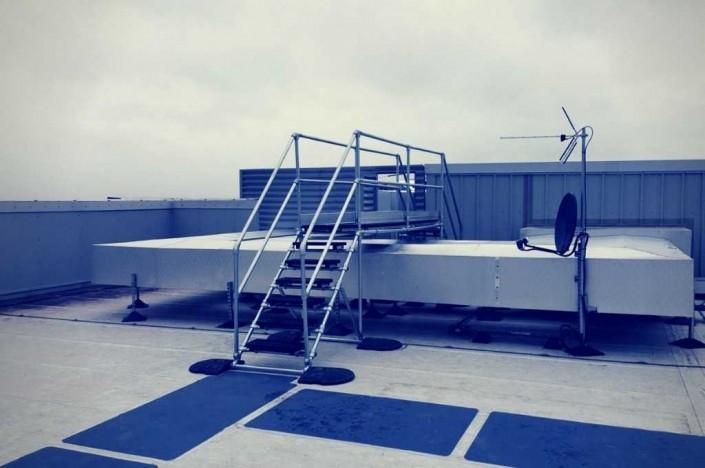 acceso a cubierta