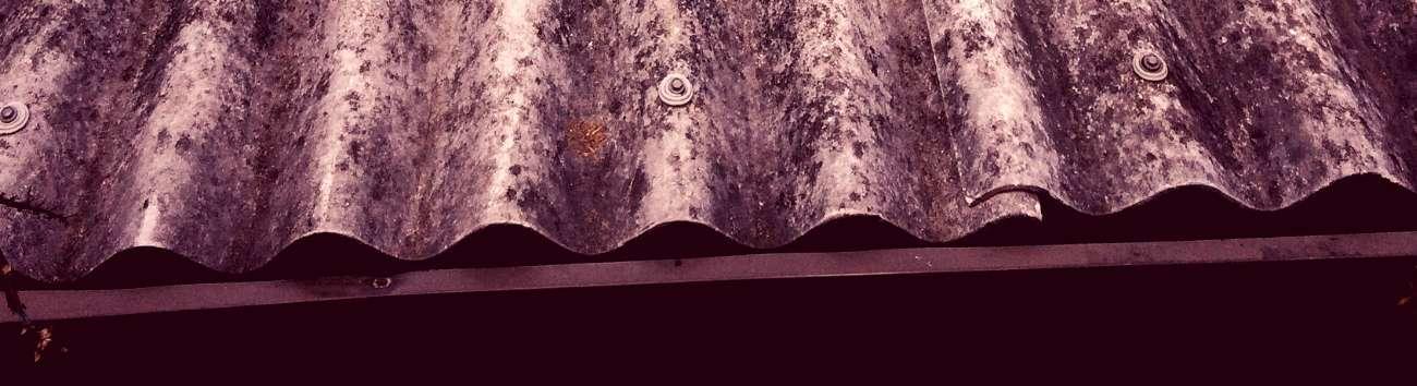 Cuidado con techos cubiertas y tejados fragiles
