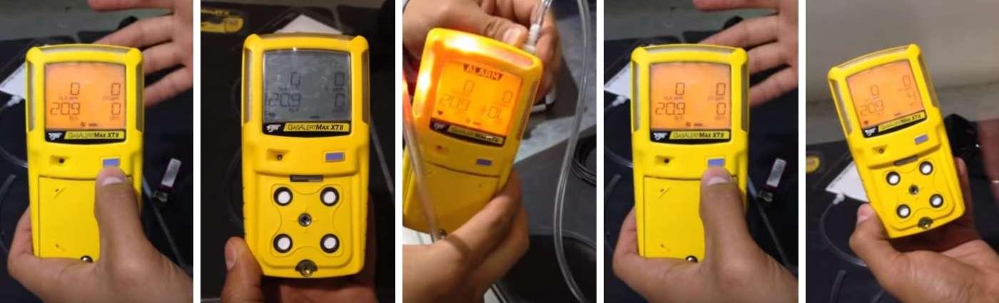 Medidores de gases y explosimetros