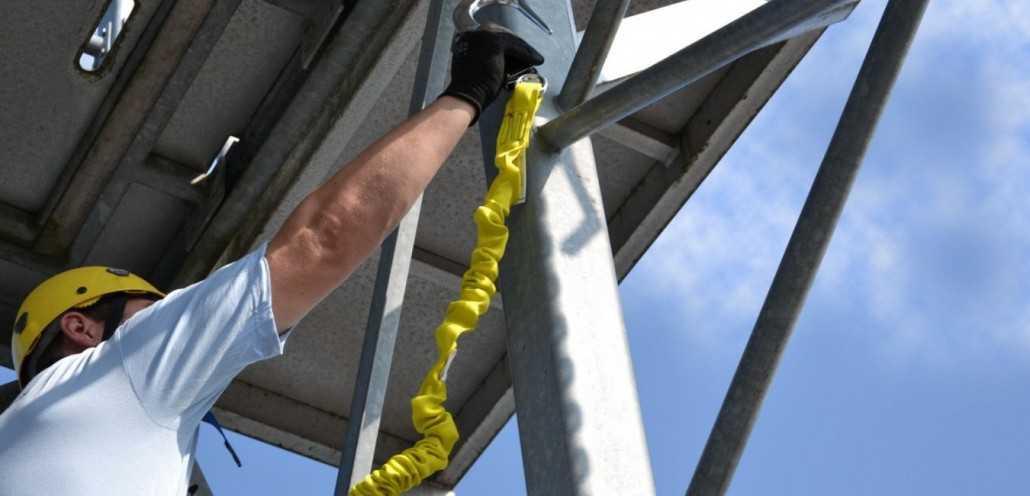 asap gancho seguridad trabajos verticales