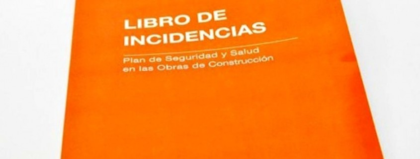 libro incidencias obra pdf ejemplo
